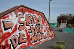Aire de roller-skate