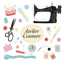 Atelier couture, raccommodage, customisation et papote en collaboration avec ENEO