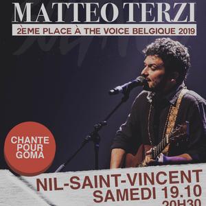 Concert de Mattéo Terzi à Nil-St-Vincent