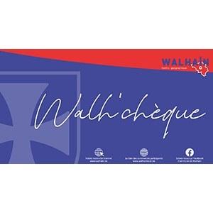 """Distribution des chèques locaux """"Walh'chèque"""""""