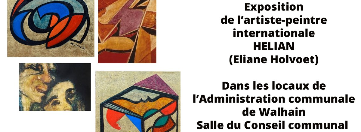 Exposition de l'artiste-peintre HELIAN