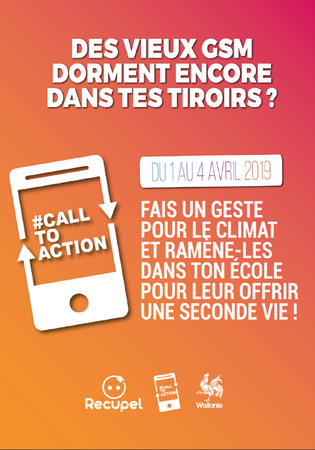 Grande opération de récolte de GSM : Call to Action