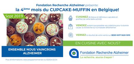 Journée mondiale d'Alzheimer - 4e édition du mois Cupcake
