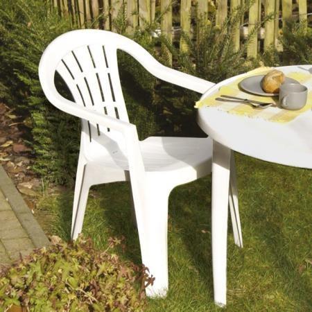 chaise jardin plastique 1270318616 — Walhain - La Commune