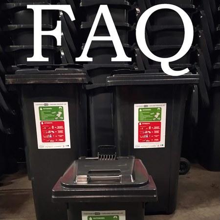 FAQ : Nouveau système de gestion des déchets