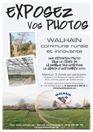 Exposez vos photos ! (dans le cadre de la semaine des initiatives)