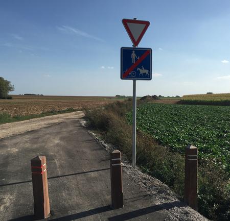 Nouvelle piste cyclable entre Walhain et Sart