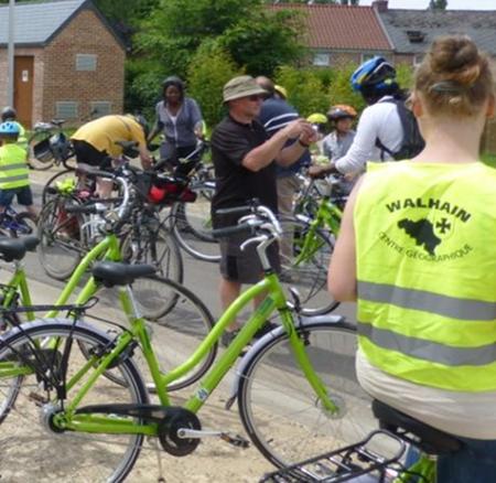 Pratiquer le vélo à Walhain? Facile !