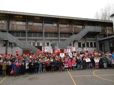 Opération pièces rouges : plus de 90 kilos récoltés par nos écoles!